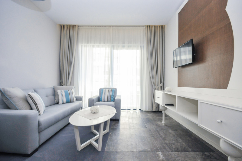 room with tv, hotel bracera budva